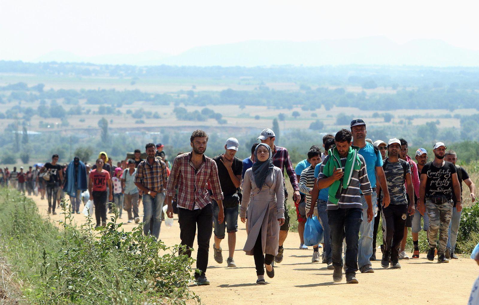 Flüchtlinge/ Serbien