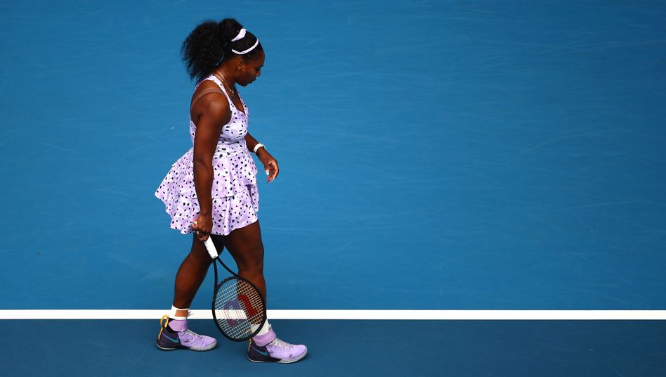 Serena Williams in Melbourne: Gegen Wang Qiang unterlag sie 4:6, 7:6 (7:2), 5:7