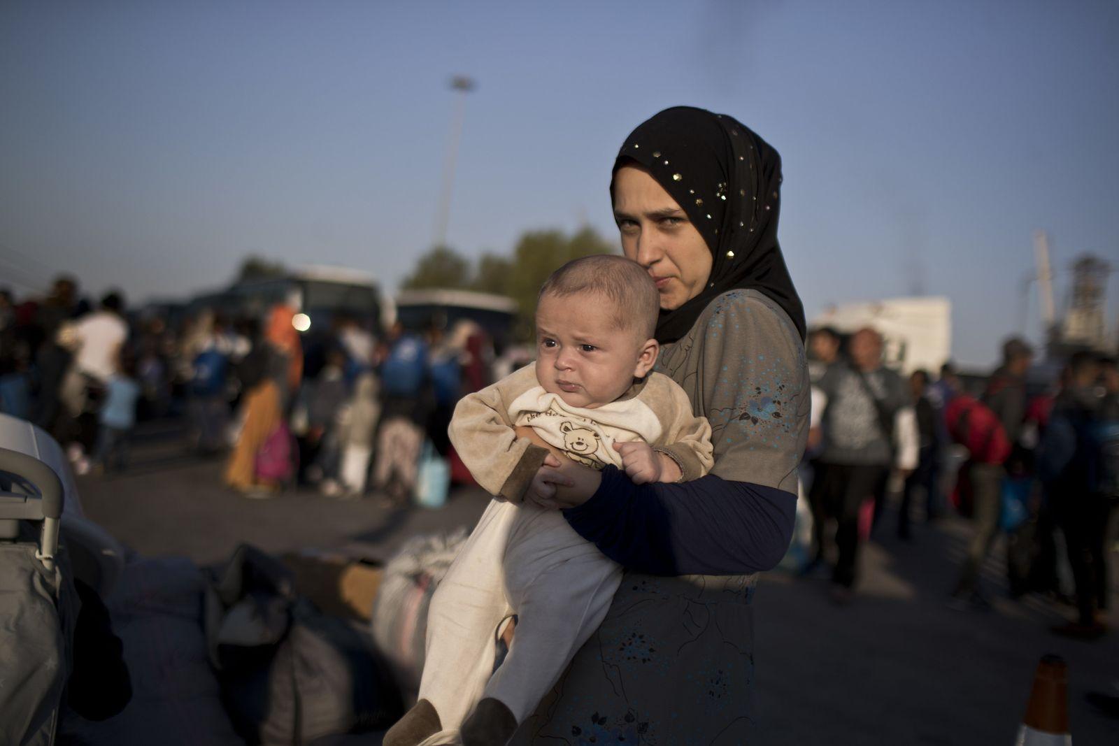 Migranten und Flüchtlinge in Griechenland