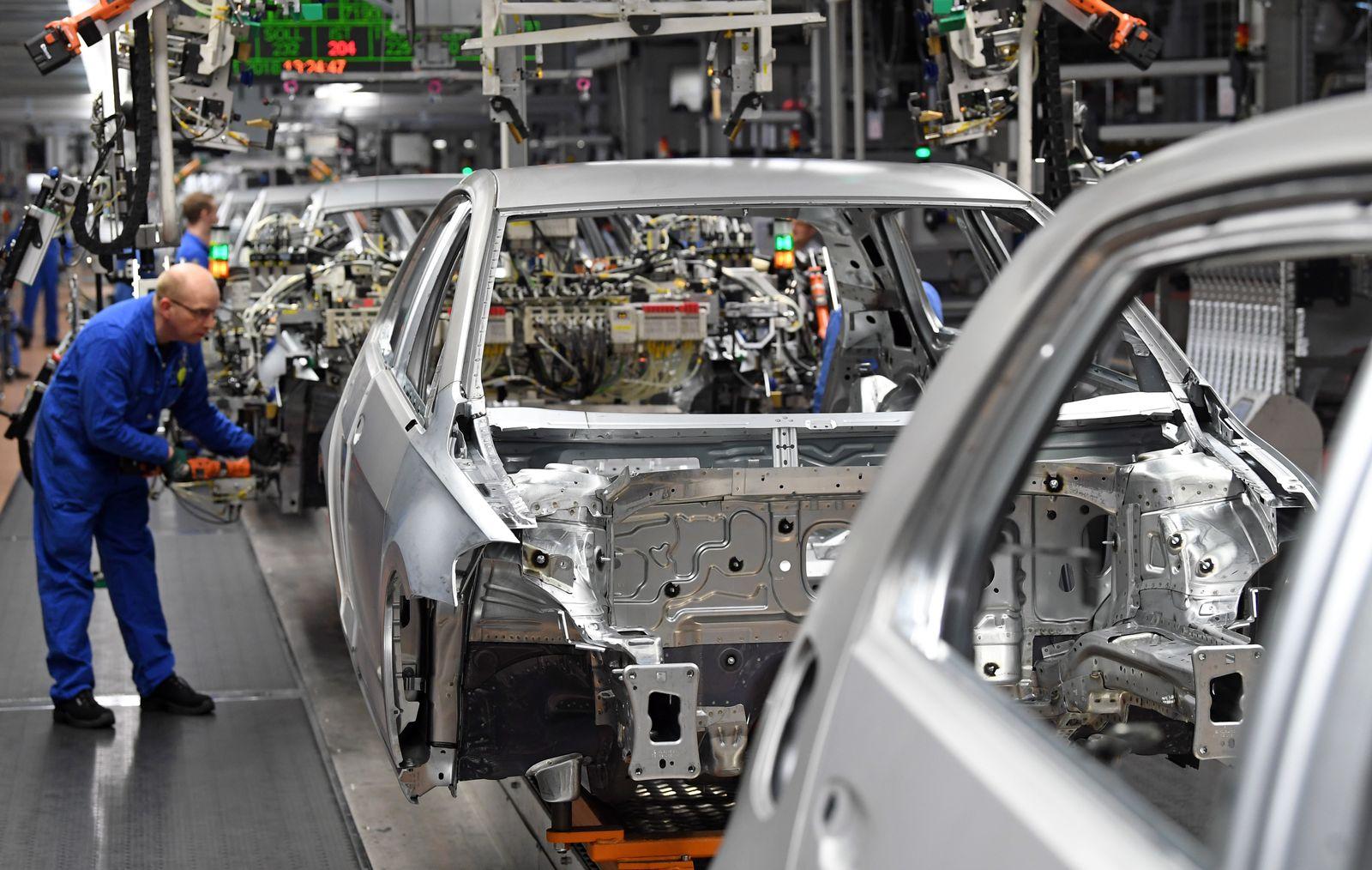 Deutschland / Konjunktur / Produktion VW Sachsen