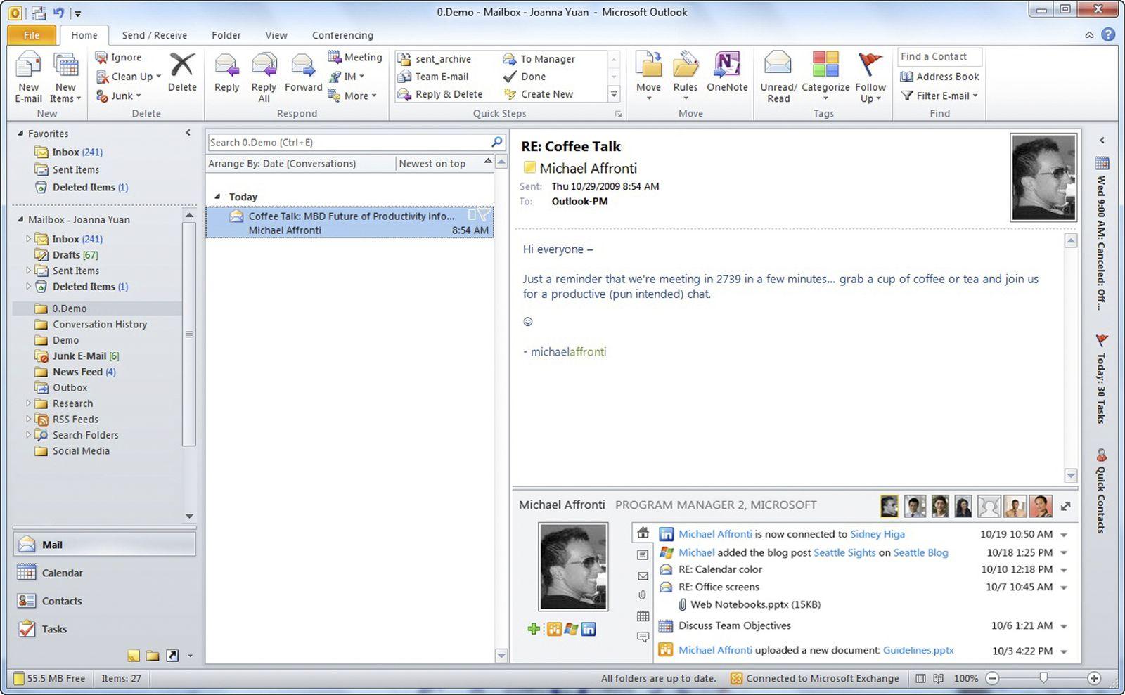 EINMALIGE VERWENDUNG Microsoft Social Networking
