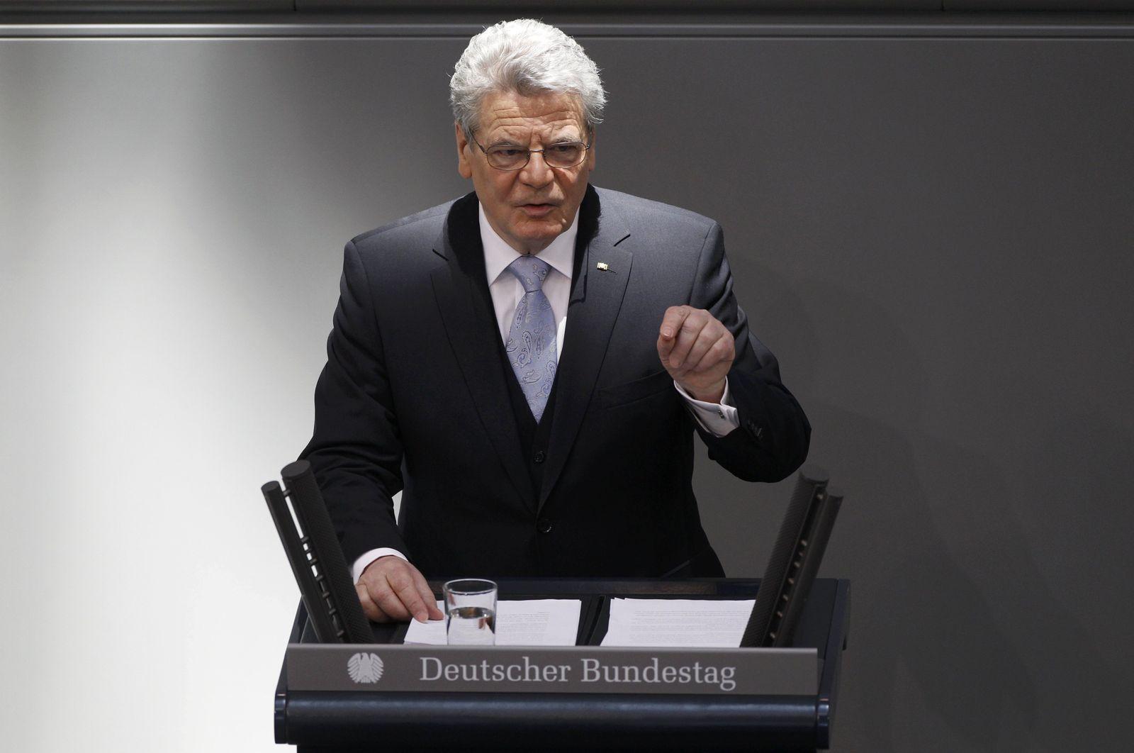 Gauck / Vereidigung