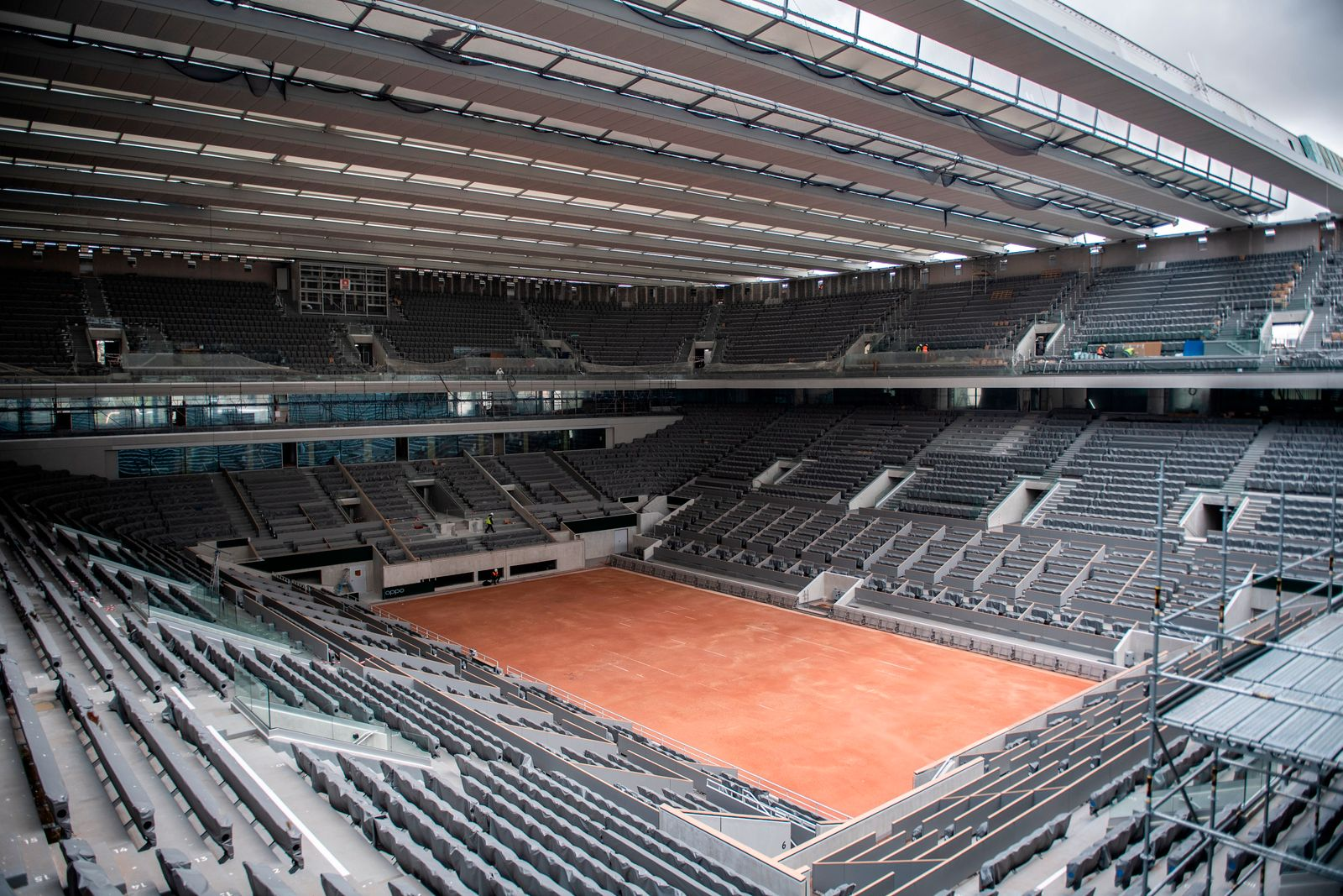 Virus Outbreak French Open Tennis
