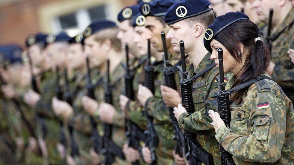 Deutsch-Niederländisches Korps: »In Uniform schlafen«