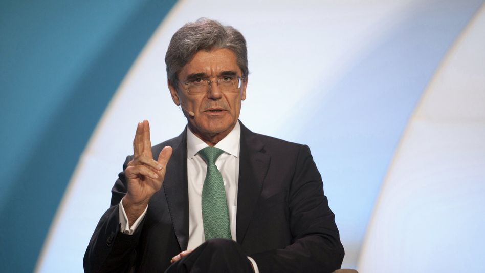"Siemens-Chef Kaeser: ""Dauerhaft jede Basis entzogen"""