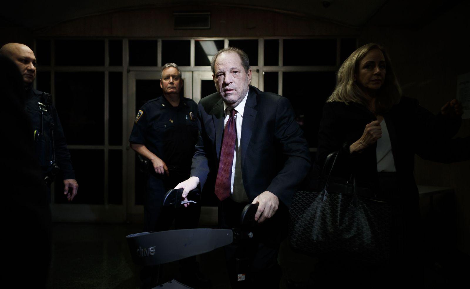 Harvey Weinstein Trial in Jury Deliberations in New York, USA - 20 Feb 2020