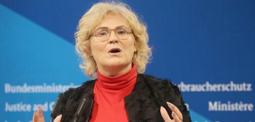 Corona-Krise: Christine Lambrecht sieht auch Länder bei Finanzierung in der Pflicht