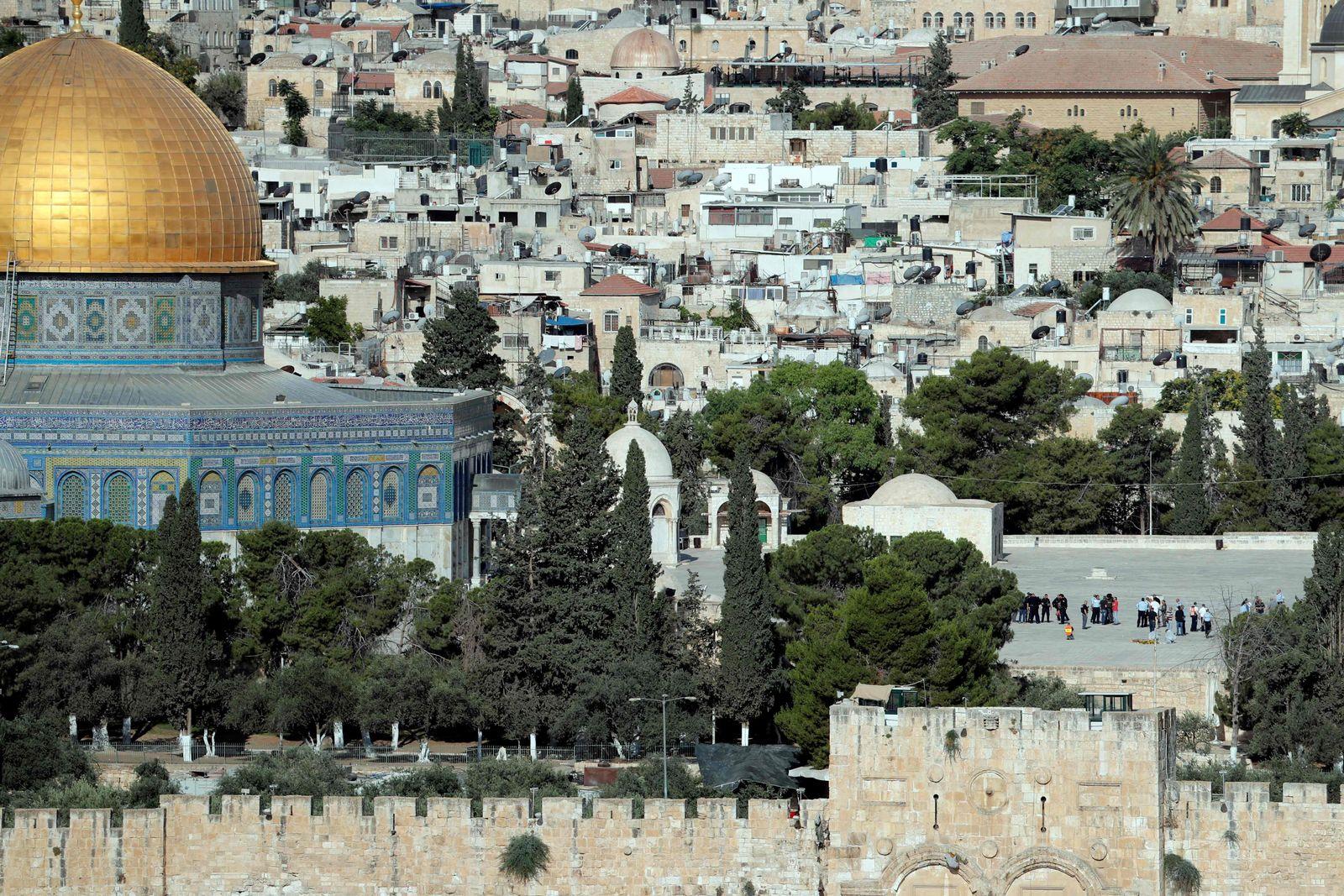 Jerusalem / Schüsse