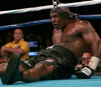 Boxer Tyson: Zur siebten Runde nicht mehr im Ring erschienen