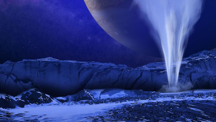 Jupitermond Europa: Kosmische Wasserspiele