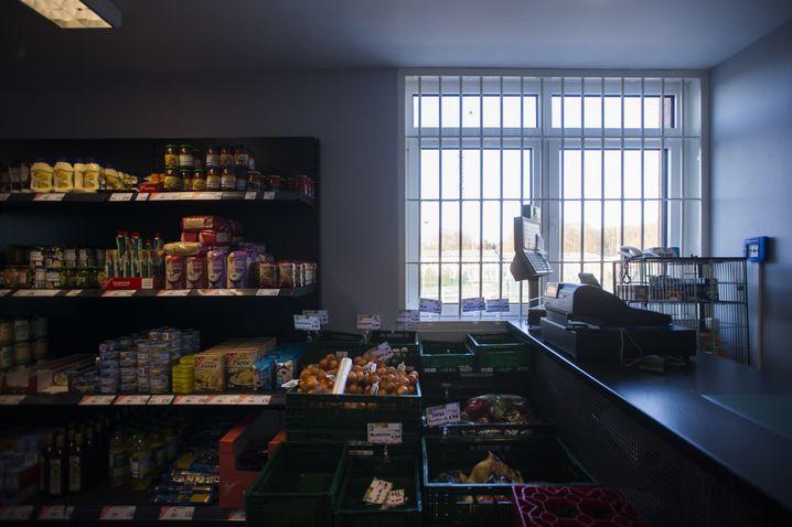 Lebensmittelladen in der UfA