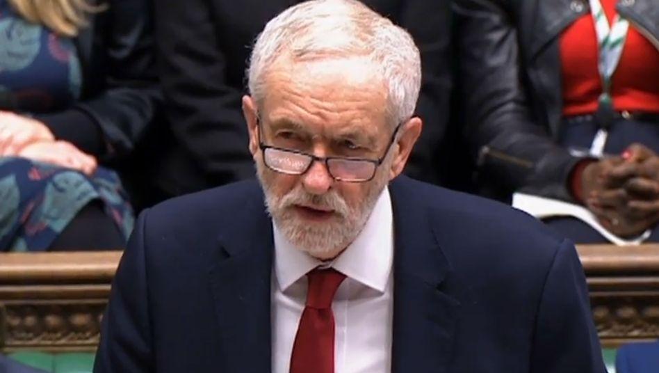 Noch-Labour-Chef Jeremy Corbyn: Das Rennen um seine Nachfolge hat begonnen
