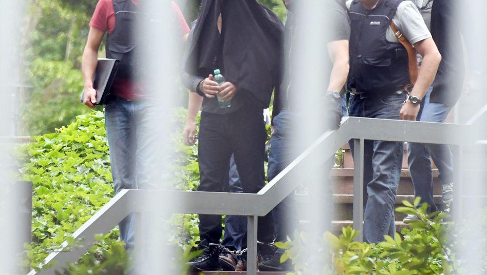 Terrorverdächtiger in Karlsruhe