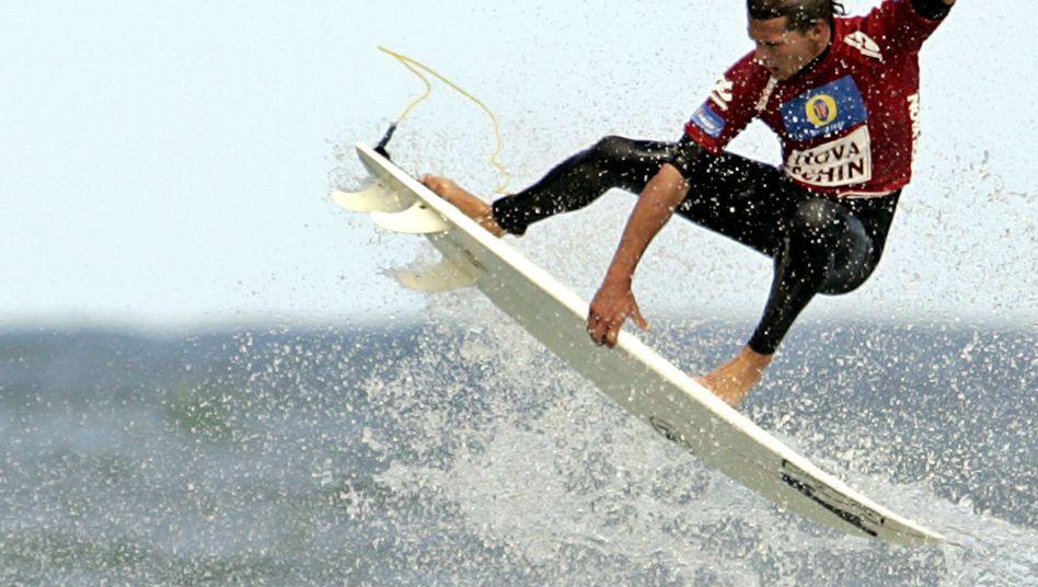 Früherer Surfweltmeister Irons: Todesursache Herzinfarkt