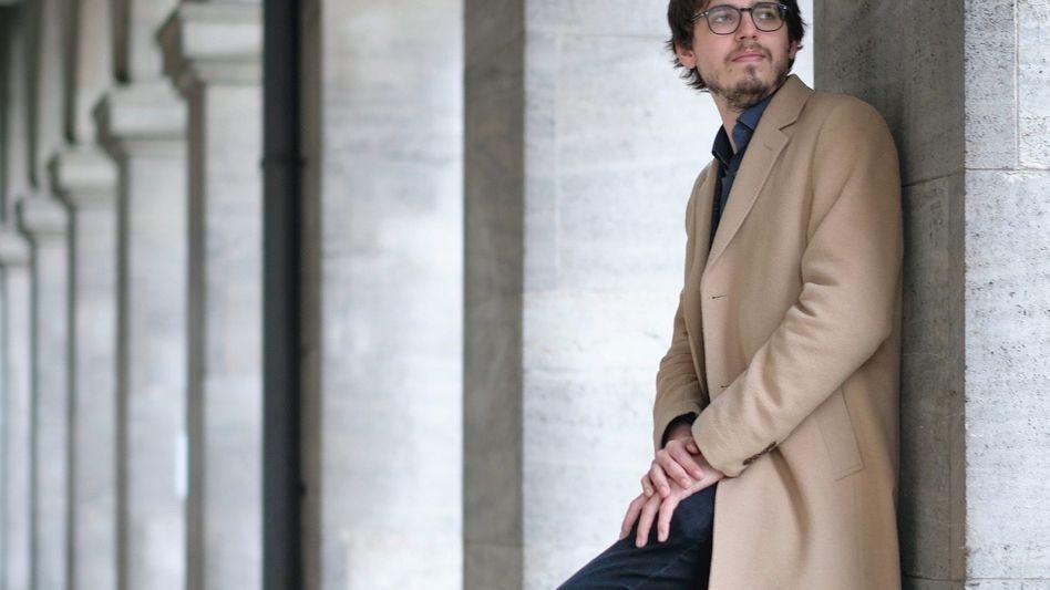 Musiker Debargue: Leicht missratene Buchweizenpfannkuchen