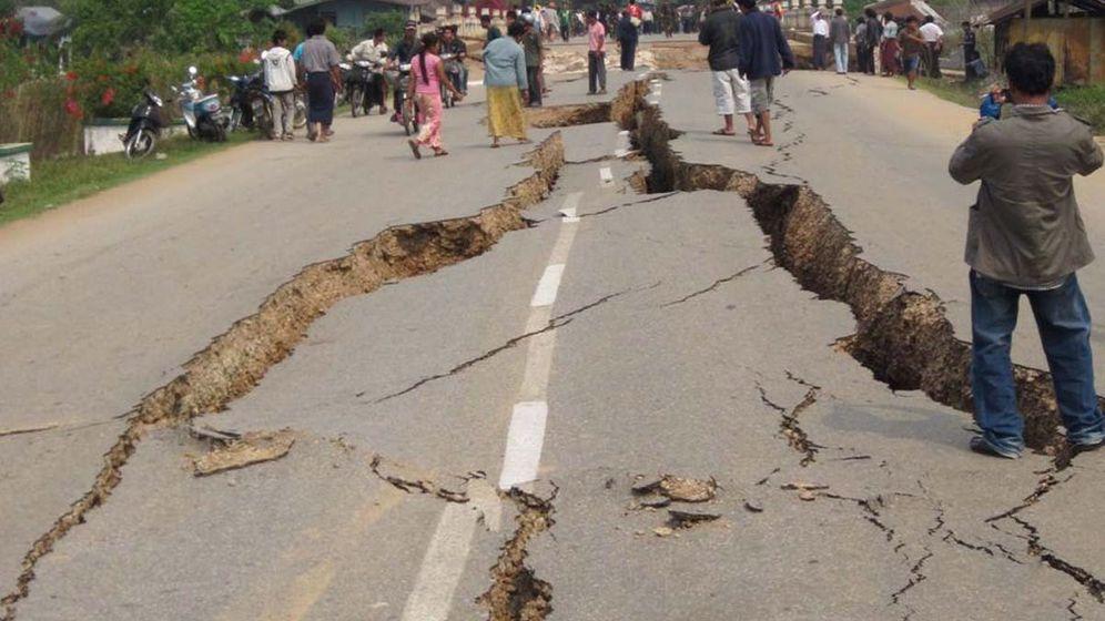 Schweres Beben: Zerstörung in Burma