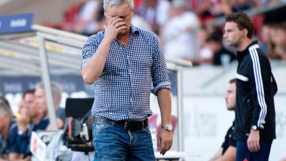 """VfB-Trainer Veh: Trainerfrage """"wird sich nicht stellen"""""""