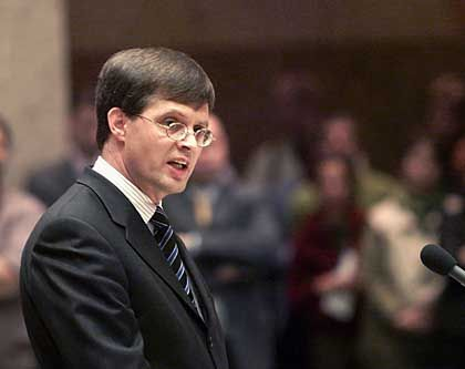 Dutch Prime Minister Jan Peter Balkenende was elected on the strength of an anti-immigrant platform in May, 2002.