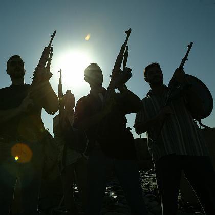 Blackwater-Sicherheitskräfte im Irak: Warten, bis sich der Staub legt