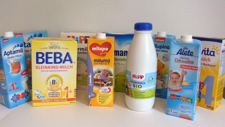 Kindermilch-Produkte: Das künstlich erzeugte Pulver ist teurer als Kuhmilch