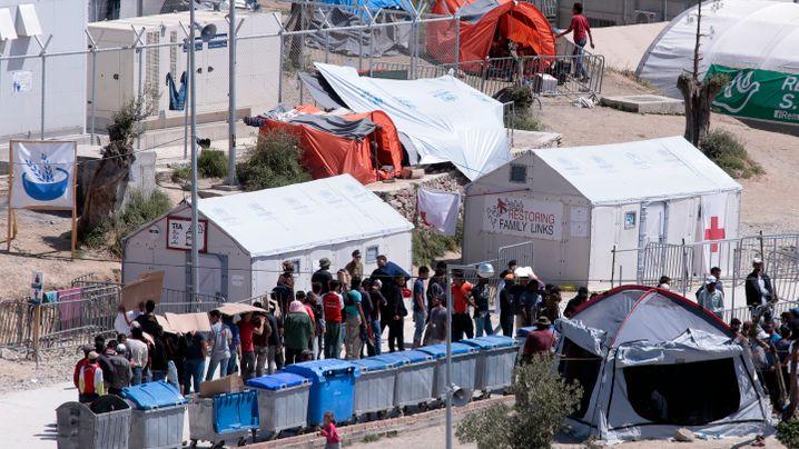 Griechenland: Engpässe in den Flüchtlingscamps