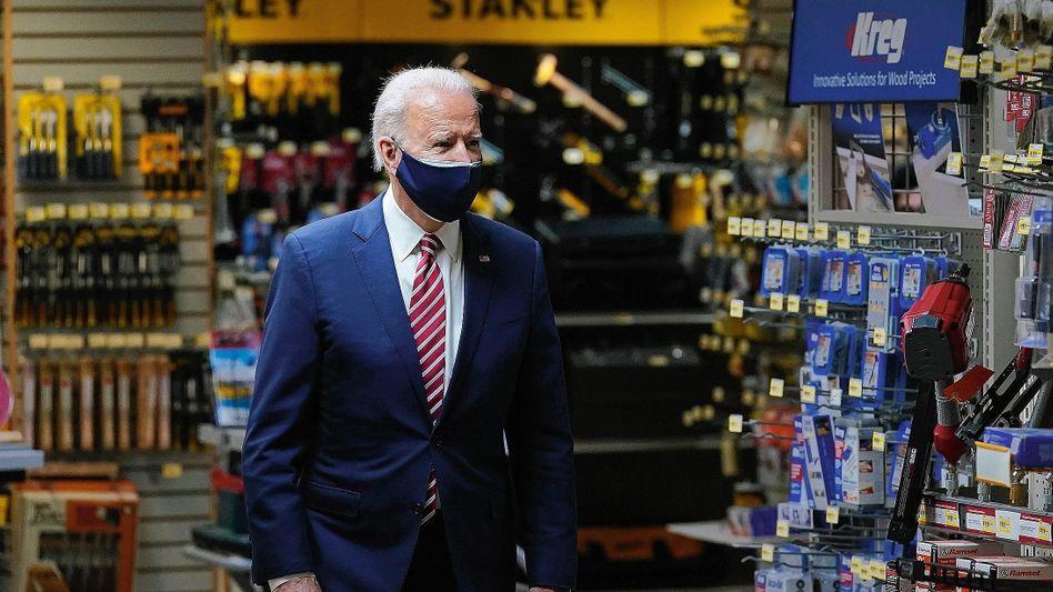 Politiker Biden: »Ich glaube keine Sekunde, dass die Vitalität der US-Industrie der Vergangenheit angehört«