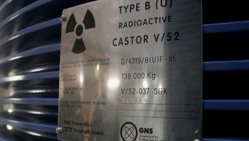 Castor-Behälter im Zwischenlager Gundremmingen: Verstärkte Sicherheitsmaßnahmen