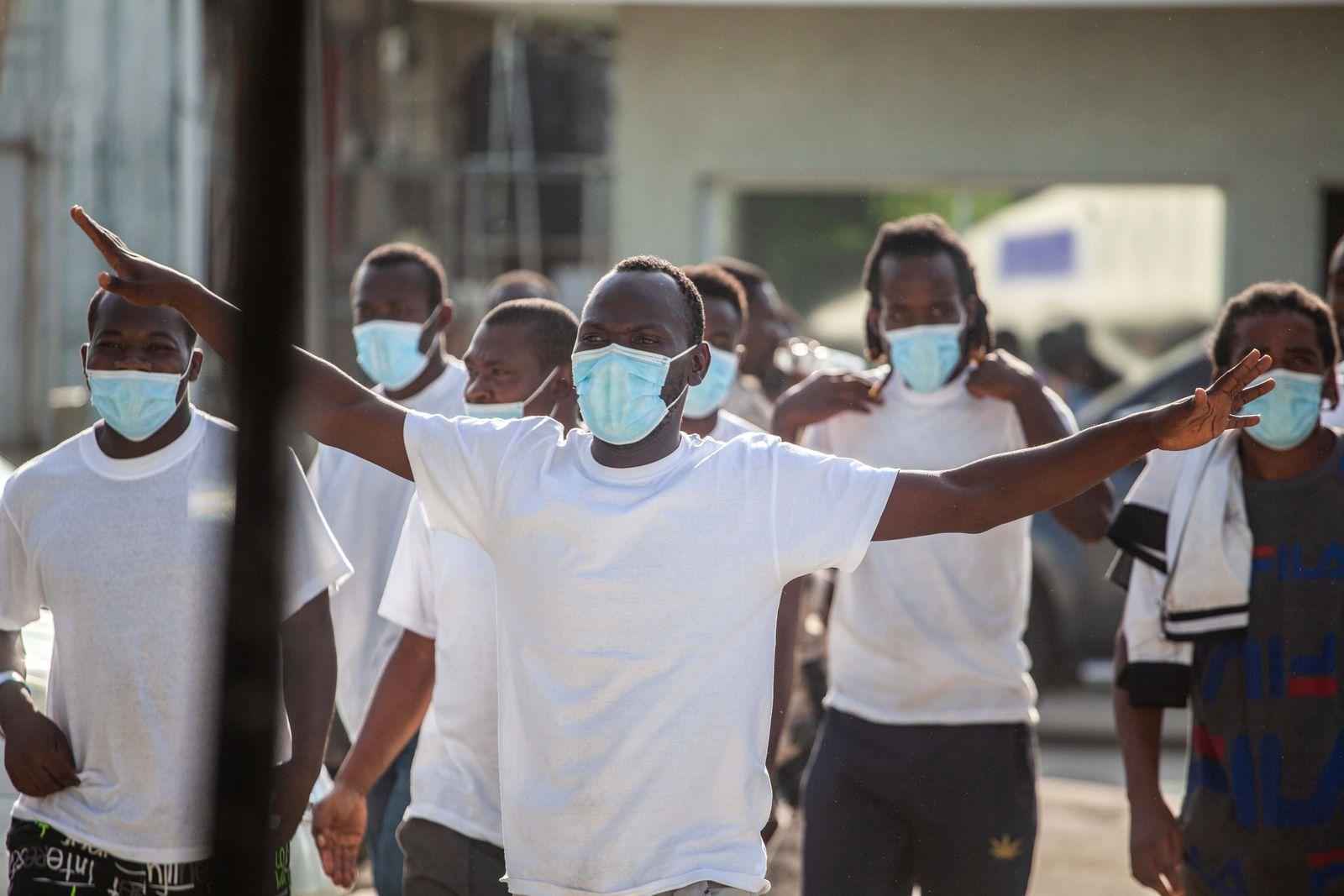 UN: US violates international standards with expulsion of Haitians