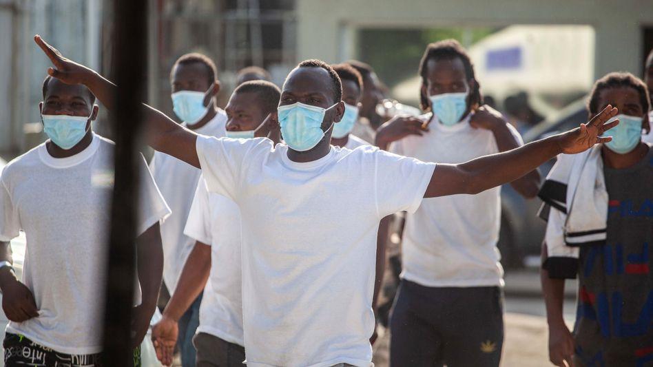 Gelandet in Port-au-Prince: 14.000 Haitianer wollen die USA in ihre Heimat abschieben