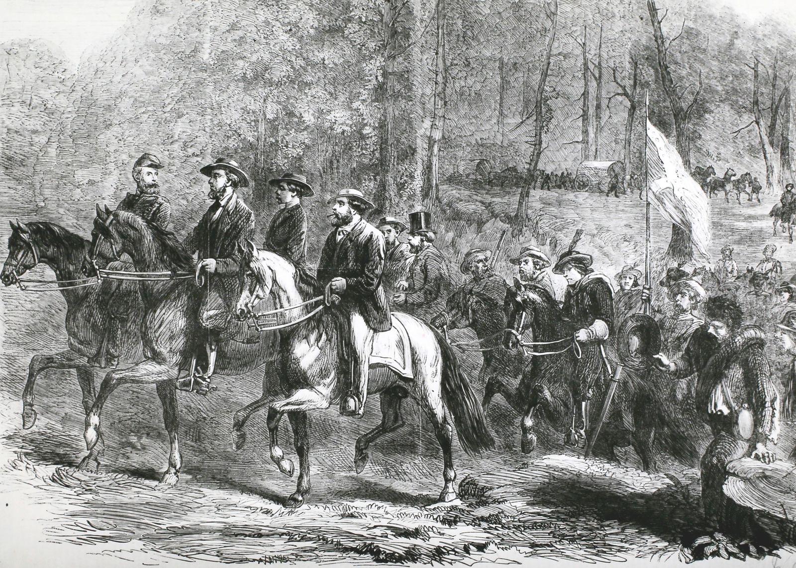 Flight of President Jefferson Davis