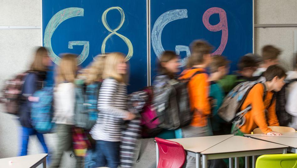 G8 oder G9 (Archiv): Im Saarland wollen Schülervertreter nicht zum alten System zurück