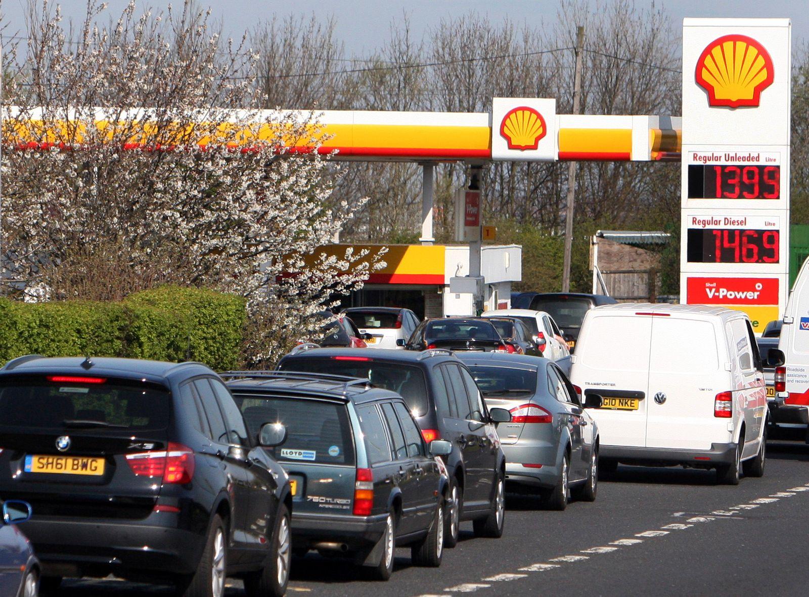 Britain Fuel Panic