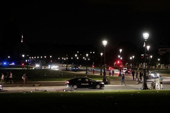 Polizeieinsatz im Zentum von Paris