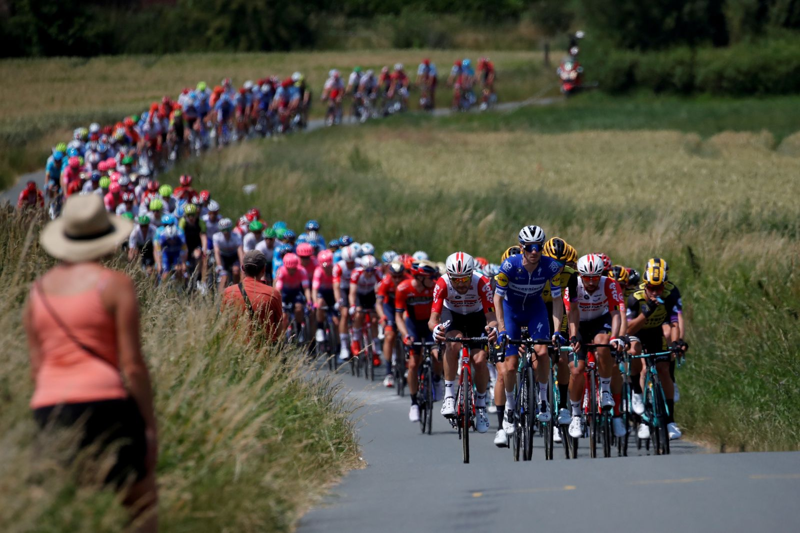Tour de France - The 194.5-km Stage 1 from Brussels to Brussels