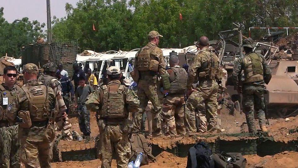 Blauhelmsoldaten in Mali (Archivaufnahme)
