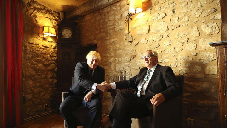 """Johnson und Juncker: """"Wir haben einen Deal"""""""
