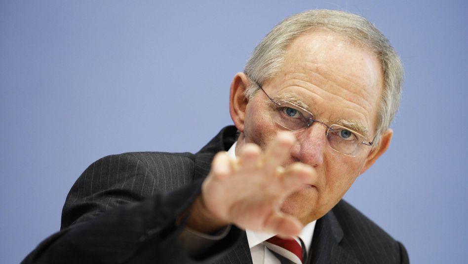 Wolfgang Schäuble: Der bisherige Innenminister soll ins Finanzressort wechseln