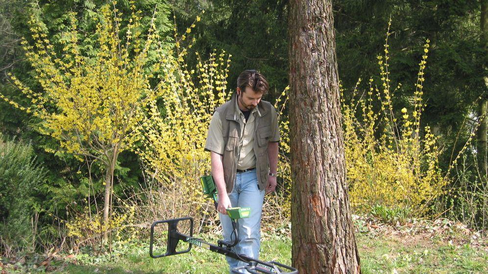Auftragssucher: Der Schatz unterm Rhododendron-Busch