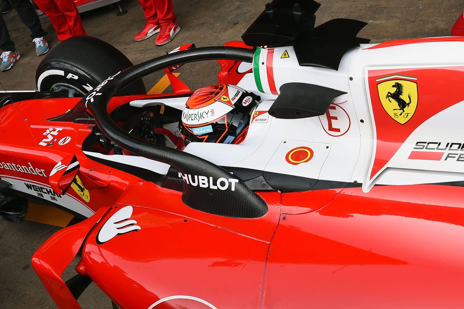 Ferrari/ Formel 1/ Halo