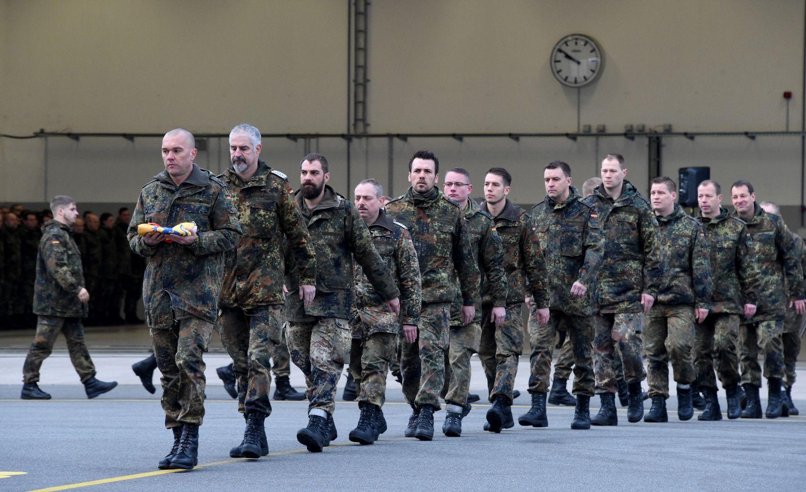 Jagel / Verabschiedung Bundeswehr / Syrien