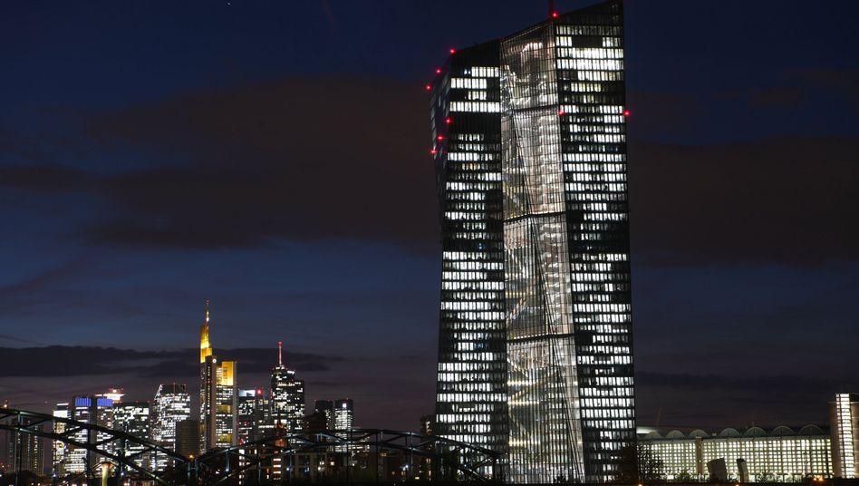 Europäischen Zentralbank in Frankfurt am Main