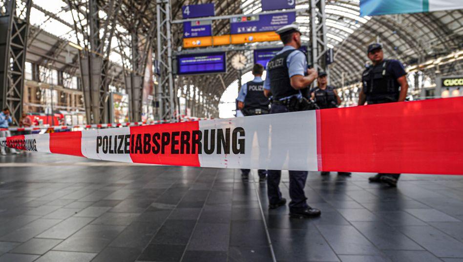 Absperrung am Hauptbahnhof: Tatverdächtiger mithilfe von Passanten gefasst