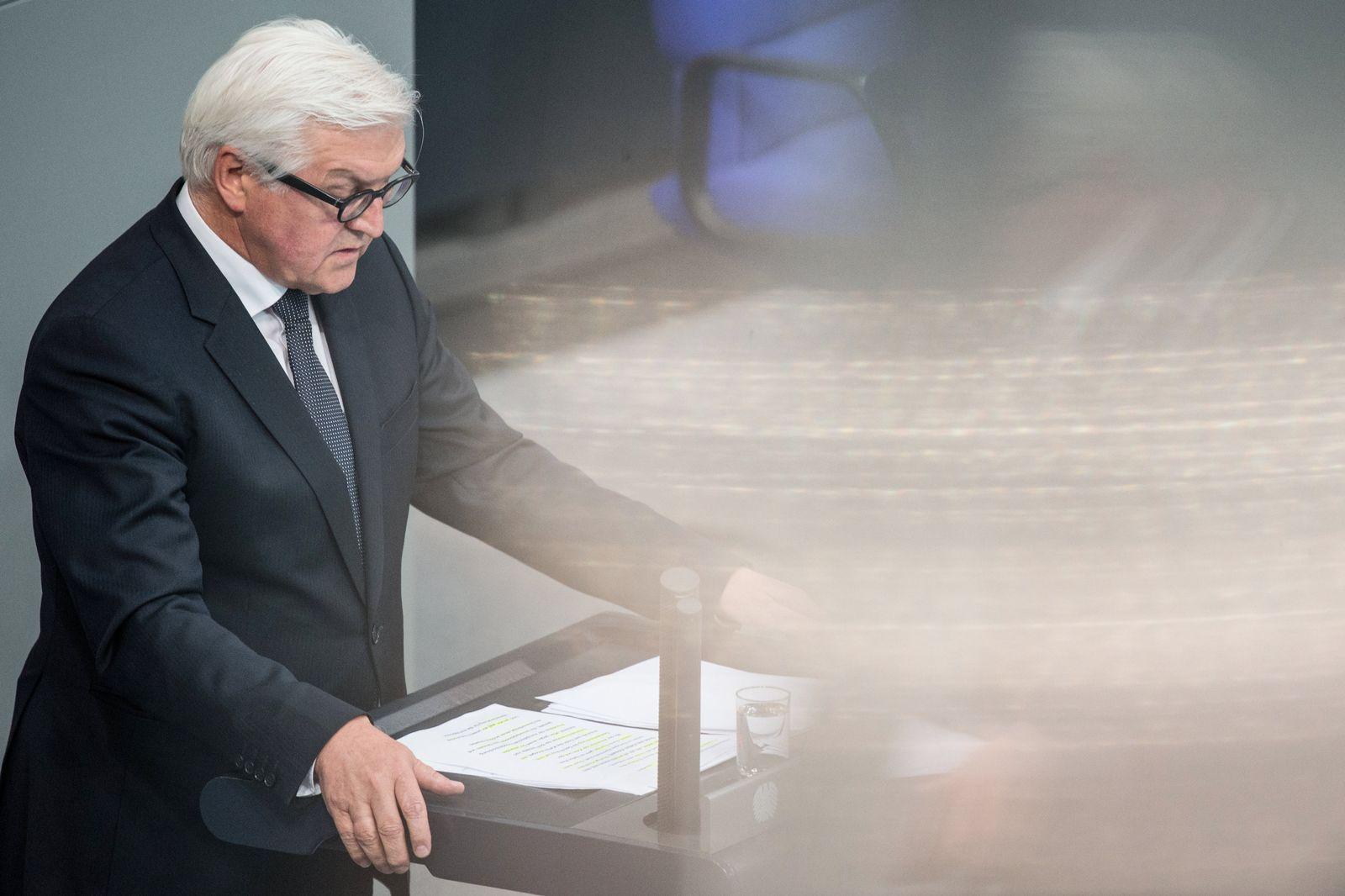 Bundestag Steinmeier