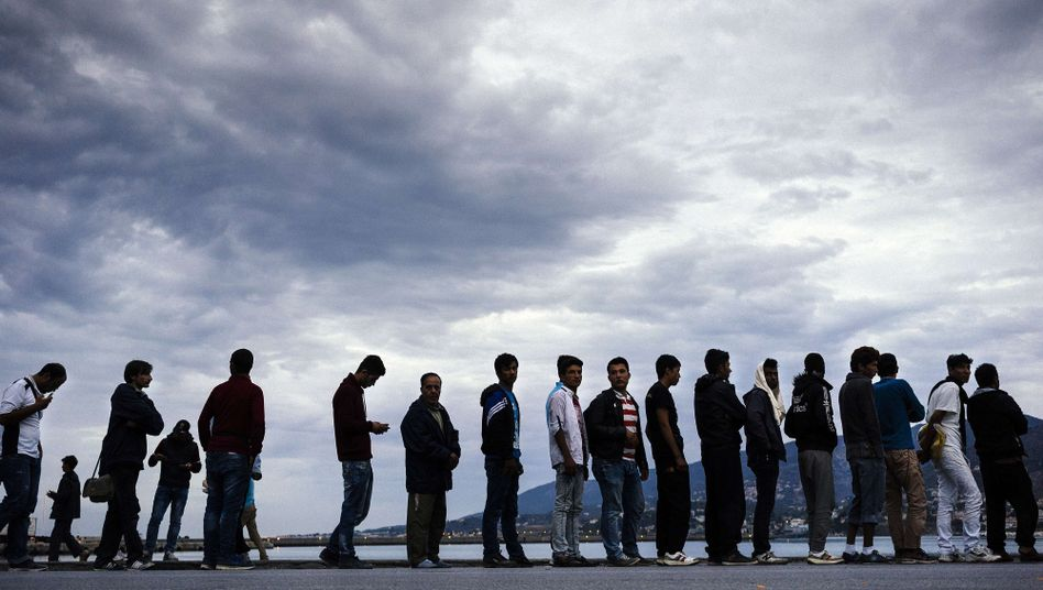 Migranten in Griechenland (Archivfoto)
