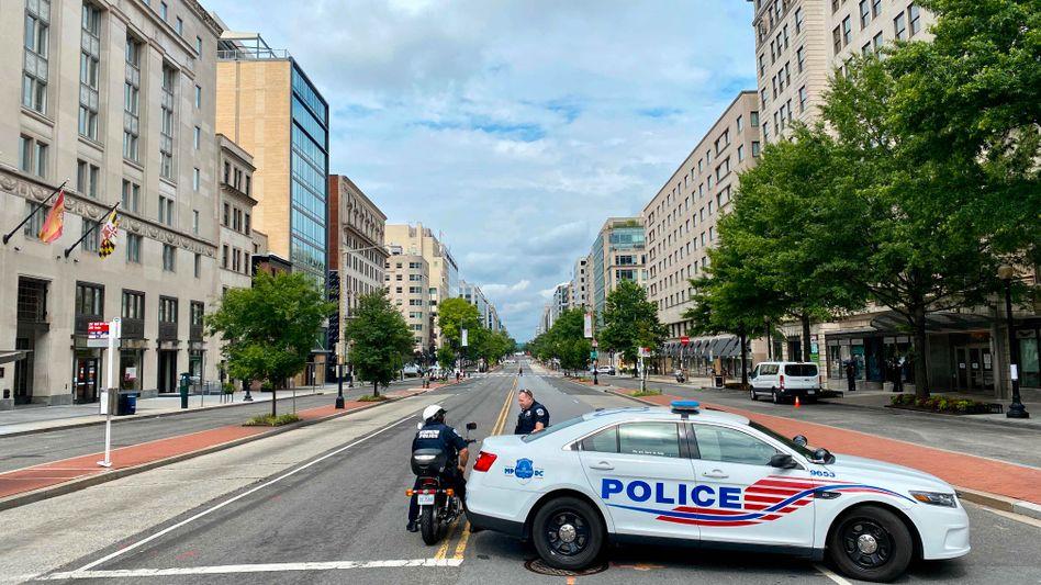 Polizisten in Washington, D.C.