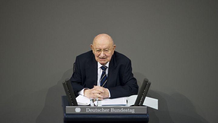 Marcel Reich-Ranicki: Gedenkstunde im Bundestag