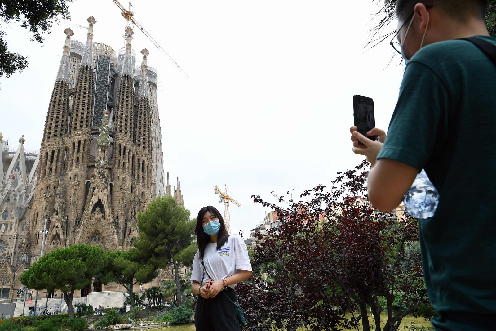 SPAIN-HEALTH-VIRUS-TOURISM-MONUMENT-RELIGION