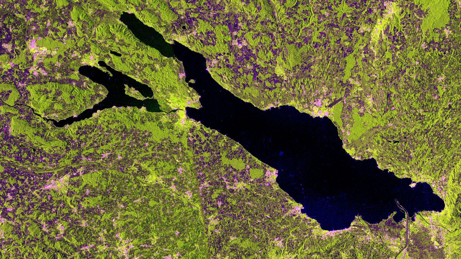 Satellitenbild der Woche/ Bodensee