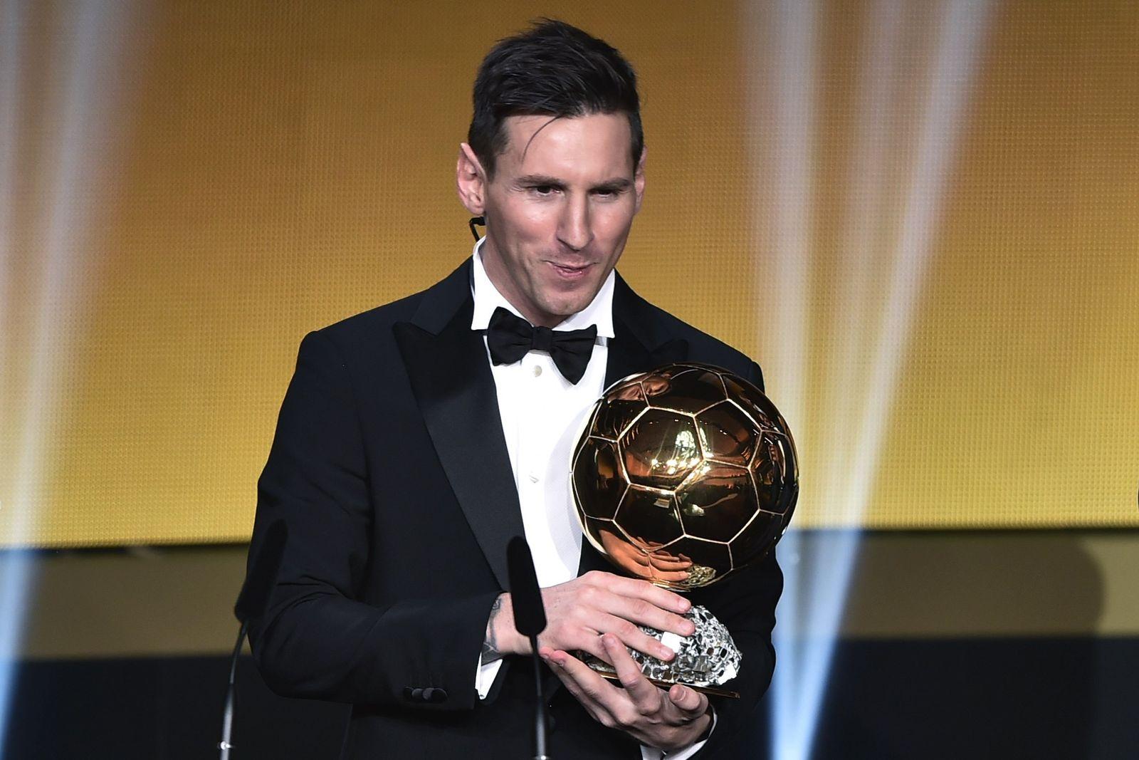Fifa Weltfußballer Messi