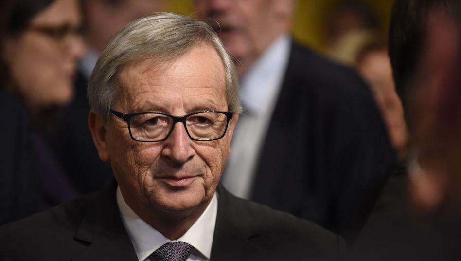 EU-Kommissionspräsident Juncker: Will 80 Programme im Papierkorb versenken